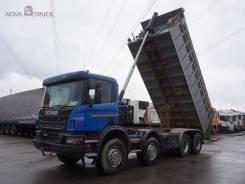 Scania P400. Самосвал , 12 740куб. см., 32 430кг.