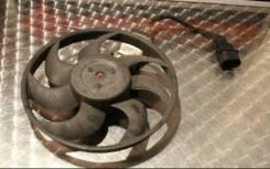 Вентилятор радиатора кондиционера. Audi Q7 Volkswagen Touareg, 7LA, 7L7, 7L6 Porsche Cayenne, 957, 955, 9PA Двигатели: BAR, BHK, BTR, BUG, BUN, AZZ, B...