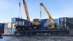Перевозка спецтехники и негабарита по ДВ. Тралы до 60 тонн!