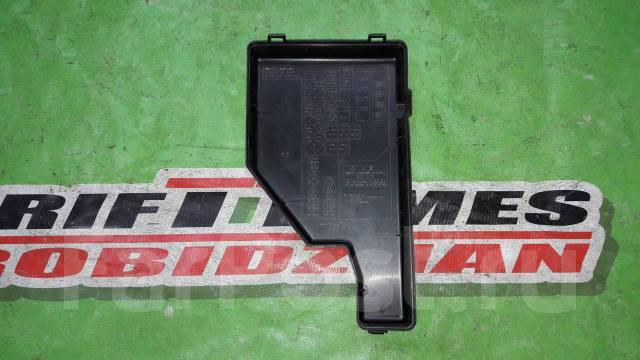 Крышка блока предохранителей. Toyota Prius, NHW20