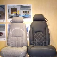 Перетяжка салона автомобиля Пошив модельных чехлов. Реставрация Ателье