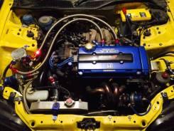 Двигатель в сборе. Honda Civic, EG3, EJ1 Honda Integra, DB1, DB6, DB7, DB8, DB9, DC1, DC2, DC5 Двигатели: B18C4, B18C, B18C3, B18C6
