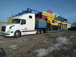 Трал до 70 тонн. Доставка транспорта, спецтехники, оборудования по ДВ