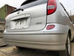 Бампер задний серебро (KLO) Nissan Tino HV10 V10