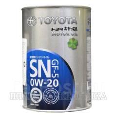 Toyota. Вязкость 0W-20, гидрокрекинговое