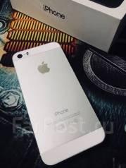 Apple iPhone 5s. Б/у, Серебристый, 4G LTE