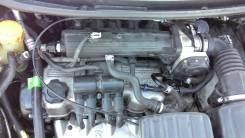Радиатор охлаждения двигателя. Daewoo Matiz, KLYA Двигатель B10S1