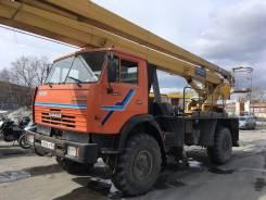 КЭМЗ. Автовышка вездеход Камаз 4326 вс-22.06, 10 850куб. см., 22,00м.