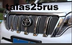 Накладка на решетку бампера. Toyota Land Cruiser Prado Двигатель 13BT