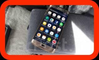 Samsung Galaxy S7 Edge. Б/у, 32 Гб, Коричневый, 4G LTE
