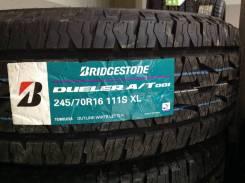 Bridgestone Dueler A/T 001. Грязь AT, 2017 год, без износа, 4 шт