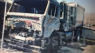 КамАЗ 43253. Камаз 43253 2016 года после пожара, 6 400куб. см.