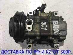 Компрессор кондиционера. Subaru Legacy, BD2, BD3, BD4, BD5, BD9, BE5, BE9, BG2, BG3, BG4, BG5, BG7, BG9, BGA, BGB, BGC, BH5, BH9, BHC, BHCB5AE Двигате...