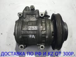 Компрессор кондиционера. Toyota Carina, AT211, AT212 Toyota Corona, AT210, AT211 Toyota Caldina, AT191, AT191G, AT211, AT211G Двигатели: 5AFE, 7AFE, 4...