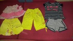 Одежда на девочку. Рост: 110-116 см