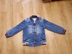 Куртки джинсовые. Рост: 110-116 см
