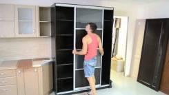 Сборка шкафов купе. Кухонный гарнитур+установка.