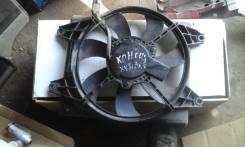 Вентилятор радиатора кондиционера. Hyundai Accent