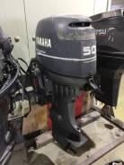 Yamaha. 50,00л.с., 4-тактный, бензиновый, нога L (508 мм), 2001 год год