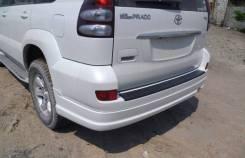 Накладка на бампер. Toyota Land Cruiser Toyota Land Cruiser Prado, GRJ120, GRJ120W, KDJ120, KDJ120W, KZJ120, LJ120, RZJ120, RZJ120W, TRJ120, TRJ120W...