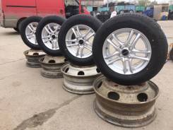 Goodyear 185/70R-14+Новое Литье Bridgestone Balminimum. Japan 100%. 5.5x14 4x100.00 ET40