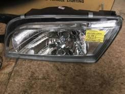 Фара (DEPO) Nissan Sunny B14, 98-00 хрусталь, 2151179LLD левая.