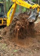 Подготовка, отсыпка участка под строительство, вырубка деревьев!