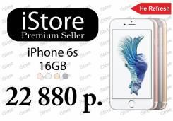 Apple iPhone 6s. Новый, 16 Гб, Серебристый