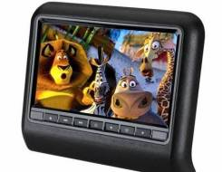 """Монитор 10"""" на подголовник в АВТО DVD/USB/SD/Game (черный). Под заказ"""