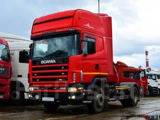 Scania R420. Седельный тягач Scania R 420 2004 г/в, 11 700куб. см., 10 450кг.