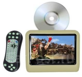 """Монитор 9"""" бежевый подголовник в АВТО DVD/USB/игры . Новый. Универ-ны. Под заказ"""