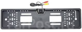 Камера заднего вида в рамке номерного знака Sho-me CA-6184LED. Под заказ
