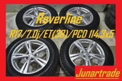 Комплект литых дисков Reverline R17/7.0j/ET(38)/PCD 114,3x5 б/п по РФ