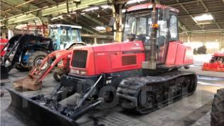 Yanmar. Японский гусеничный трактор CT-120 с планировочным отвалом., 118 л.с. (86,8 кВт)