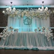 Декор свадебного зала. С уважением, Виктория.