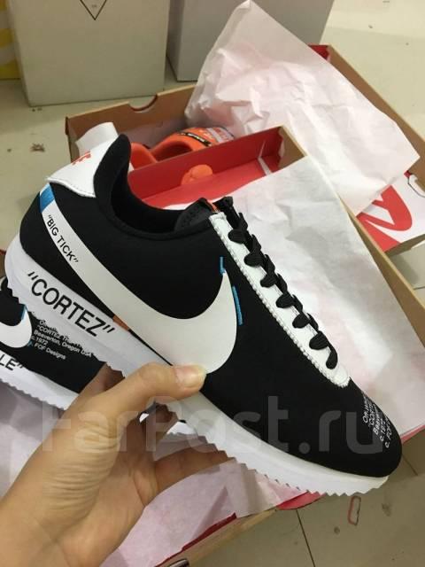 496d97e3 Фирменные кроссовки NIKE Cortez Off-White - Обувь во Владивостоке