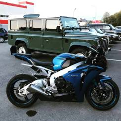 Honda CBR 1000. 1 000куб. см., исправен, птс, с пробегом