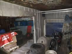 Сдам двойной гараж двое ворот. Вид изнутри