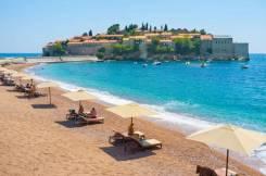 Черногория. Тиват. Пляжный отдых. Сказочная Черногория