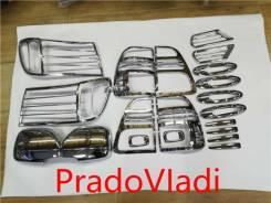 Накладка декоративная. Toyota Land Cruiser, FZJ100, FZJ105, HDJ100, HDJ100L, HDJ101K, HZJ105, J100, UZJ100, UZJ100L, UZJ100W Двигатели: 1FZFE, 1HDFTE...