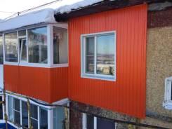 Фасадные работы, ремонт кровли, установка окон, отделка балконов, роли