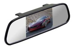 Зеркало заднего вида с монитором Silverstone F1 4,3 (2 Входа) Новое. Под заказ