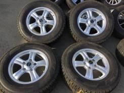 285/60R18 Dunlop SJ7 99% + литьё от Weds R18 8j 52 5/150 450d 200 570. 8.0x18 5x150.00 ET52 ЦО 110,5мм.