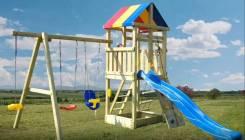 Куплю детскую площадку во двор, можно б/у.