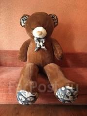 Новый мягкий медведь 180 см. Под заказ