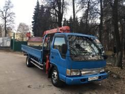 Isuzu Elf. Продается грузовик с манипулятором , 4 985куб. см., 5 000кг.