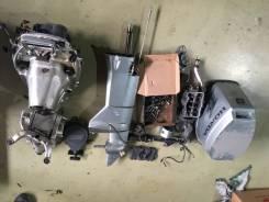 Honda. 8,00л.с., 4-тактный, бензиновый, нога L (508 мм), 2002 год год