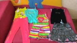 Летняя одежда на девочку 4-5 лет. Рост: 104-110, 110-116 см