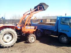 Hinomoto E324. Продам Трактор с фрезой и куном, 32 л.с.