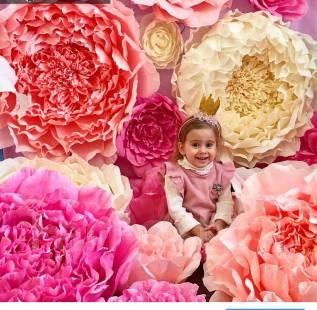 Большие цветы для оформления праздников, фотозон